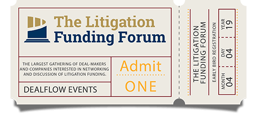 Early Bird Registration for The Litigation Funding Forum